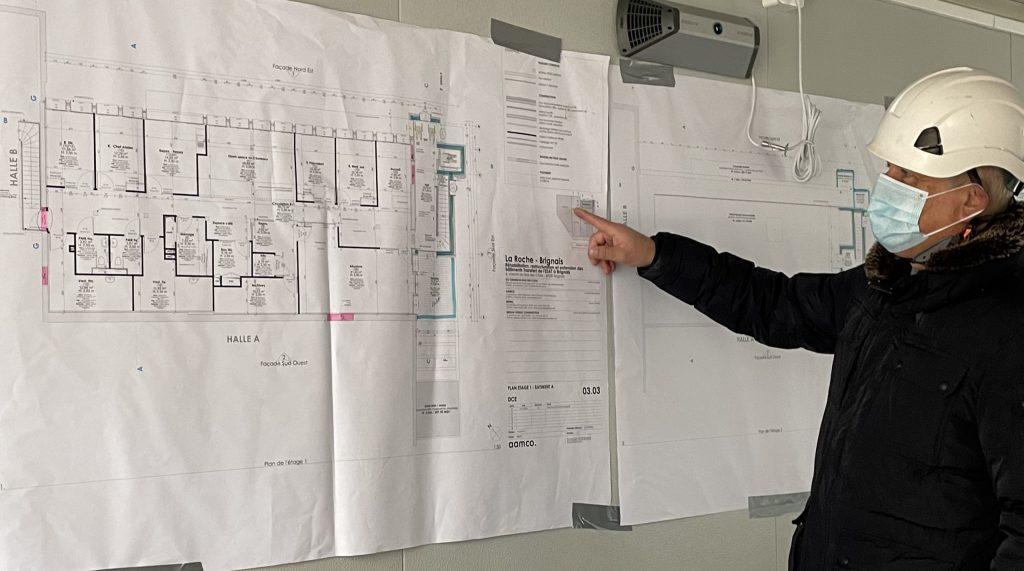 Photo d'un économiste de la construction